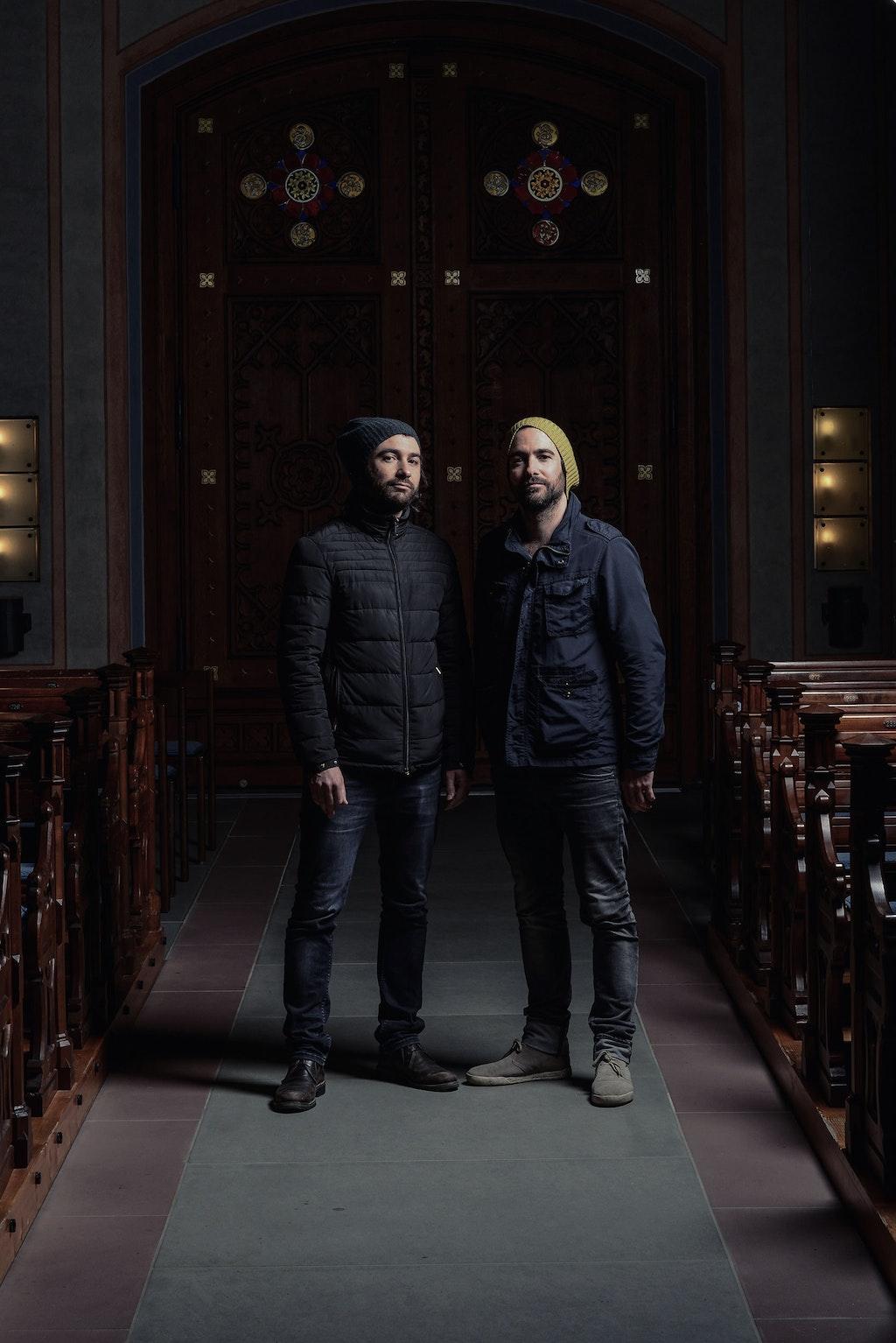 Künstlerduo Frank und Patrik Riklin im Mindful CEO Talk
